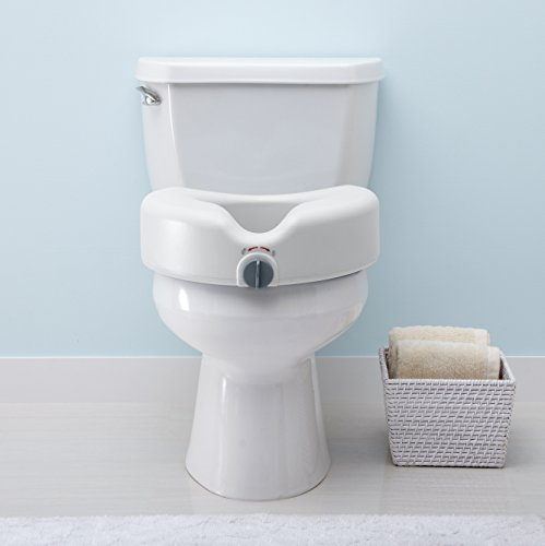 Product Image of the Medline Locking Elevated Toilet Seat without Arms