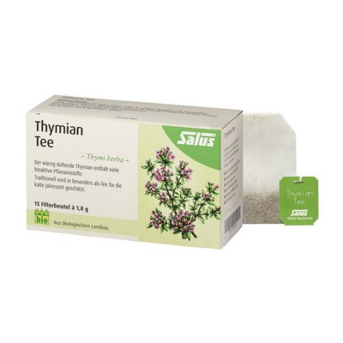 THYMIAN TEE Kräutertee Thymi herba Bio Salus 15 St