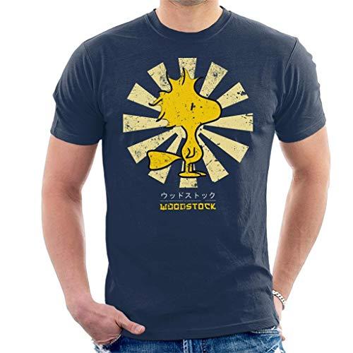 Peanuts Woodstock Retro Japanese Men's T-Shirt