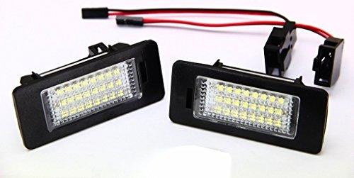 phil trade Led Kennzeichenbeleuchtung kompatibel für Golf 6 Variant Jetta 6 Passat 3C B6 Variant