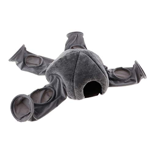 Homyl Jouet pour Chat/Chaton Tunnel Pliable 4 Canaux,...