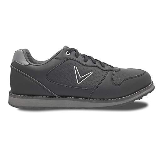 Callaway Men's Chev SL Golf Shoes Black/Grey 9.5