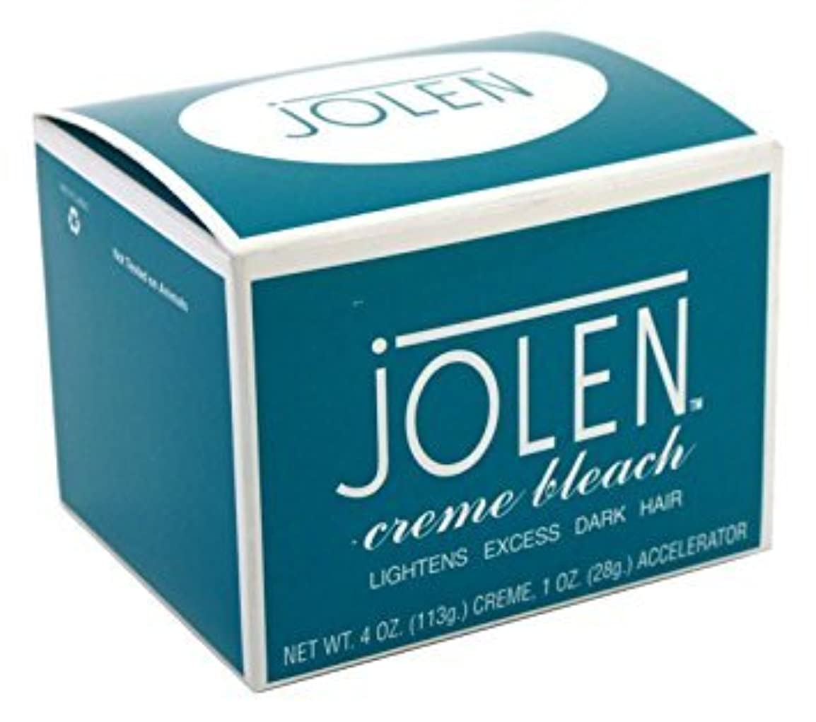嵐赤道もっと少なく箱つぶれ Jolen ジョレン 眉用ブリーチクリーム  レギュラー 大きなサイズ 4オンス [並行輸入品]