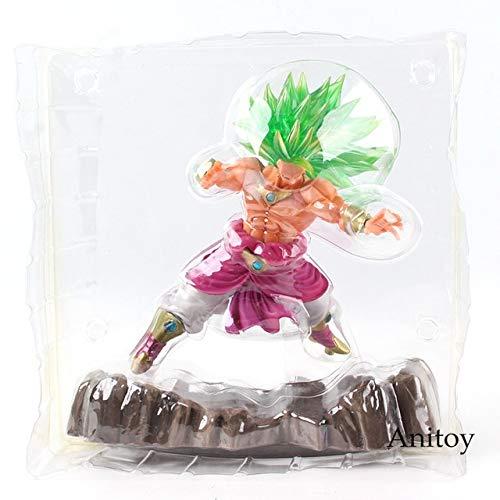 Yvonnezhang Dragon Ball Figura GT Super Saiyan 4 Red Goku Vegeta Dragon Ball Figura de acción Brinquedos Dragon Balls Z Colección Juguete 15-27cm, KT5247 en Bolsa