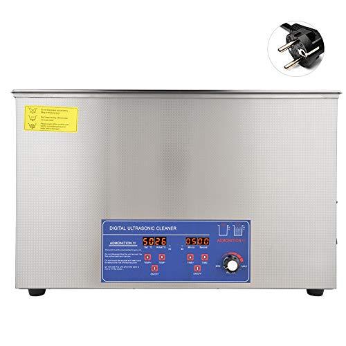 30L digital ultraljudstvätt, 40KHz 800W temperaturjusterbar ultraljudstvättmaskin, ultraljudstvättmaskin ultraljudstvätt (EU)