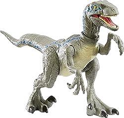 4. Jurassic World Savage Strike Velociraptor Blue