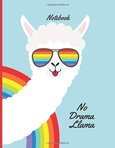 Llama Notebook: Notebook For Llama Lovers   Llama Journal Gift Idea For Llama Owners, Breeders,  Alpaca and Animal Lover   This Paperback Notebook Is 8.5