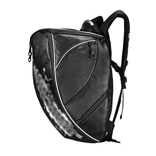 Motorcycle Backpack Black Helmet Bag Laptop Rucksack Outdoor Sports Riding Travel Camping Hiking Backpack,Black