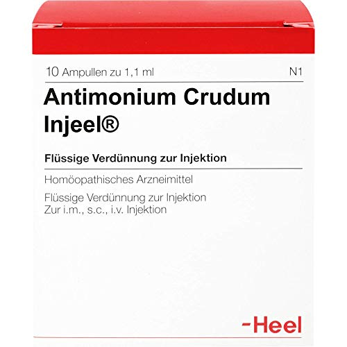 ANTIMONIUM CRUDUM INJEEL Ampullen 10 St