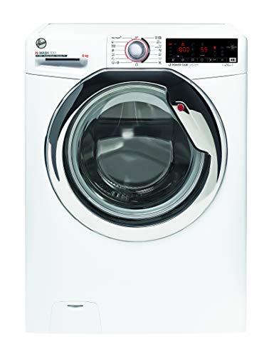 Hoover H-WASH 300 H3WS4428TAMCE-S Waschmaschine / 8 kg / 1200 U/Min / BPM Inverter Motor / All in One Programm / ActiveSteam: Dampf-Funktion / Smarte Bedienung mit NFC