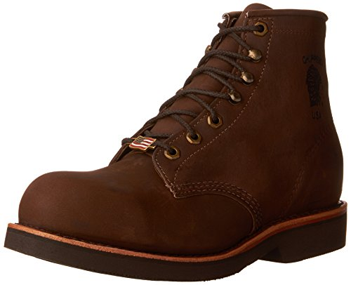 """Chippewa Men's 6"""" Steel Toe EH 20066 Lace-Up Boot"""