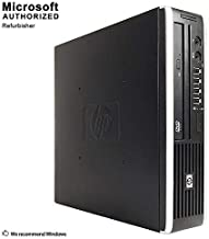 HP Elite Desktop PC, Intel Core i5-2400s Upto 3.3GHz, 4G DDR3, 250G, DVD, VGA, DP, Windows 10 Pro 64 Bit-Multi-Language Supports English/Spanish/French(Renewed)