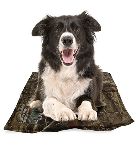 CHILLZ Cooling Pad for Dogs – Pet Cooling Mat Featuring Realtree Edge Camo Pattern – Large Dog...