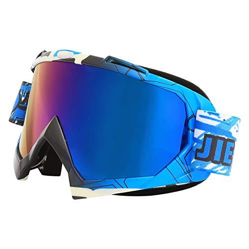 ZYQDRZ Gafas De Moto, Espejos De Parabrisas para Motocicletas De Ciclismo, Gafas De Esquí para Hombres Y Mujeres,#6