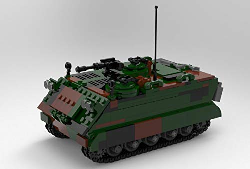 BlueBrixx 06050 Marke Xingbao – MTW M113, Bundeswehr aus Klemmbausteinen mit 735 Bauelementen. Kompatibel mit Lego. Lieferung in Originalverpackung.