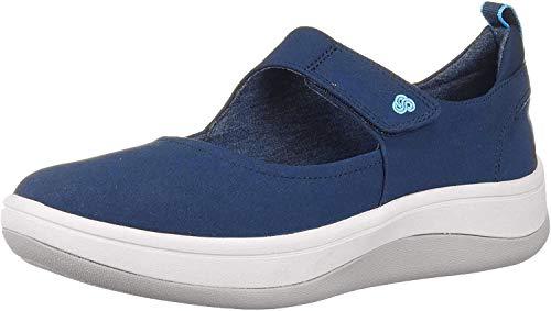 Clarks Arla Air, Zapatillas Mujer, Azul (Navy Navy), 39 EU