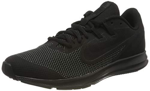 Nike Unisex-Kid's Downshifter 9 Grade School Running Shoe, Black/Black-Anthracite, 5.5Y Youth US Big Kid
