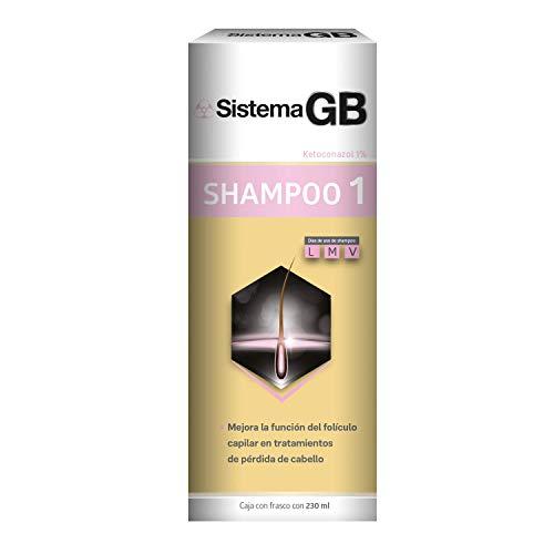 Shampoo Crece Fem marca Sistema Gb