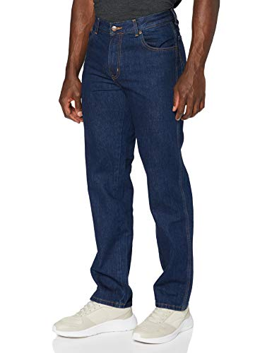 Wrangler Herren Texas Contrast\' Jeans, Blau (Darkstone 009), 38W / 30L