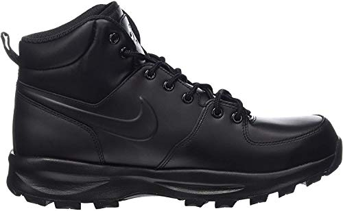 Nike Men's Manoa Leather Black/Black/Black Boot 11 Men US