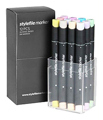 Stylefile Marquer 12er Set, Pastell