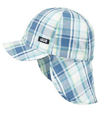 Döll Baby-Jungen Baseballmütze mit Nackenschutz Kappe, Blau (Dark Blue Blue 3046), 49