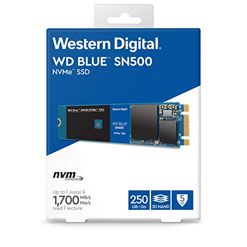 WESTERNDIGITAL(ウエスタンデジタル)『WDBlueSN500NVMeSSD』