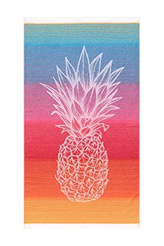 Pareo / Fouta Caribe Especial para Playa 100% algodón (100x170 cm)