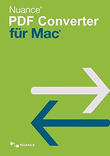 Nuance PDF Converter for MAC (OS X 10.10|11|12) 1 Gerät EFS PKC