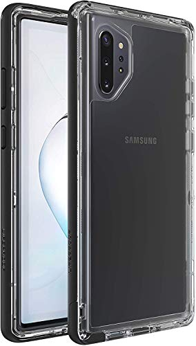 LifeProof Next Series Case for Samsung Galaxy NOTE 10 PLUS - Retail Packaging - Black Crystal