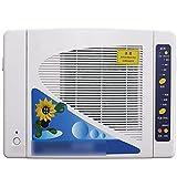 VDSOIUTYHFV Purificador de Aire para filtros HEPA domésticos, Limpiador de Aire silencioso para alergias, Fumador, Pelo de Mascotas, Polvo, Temporizador