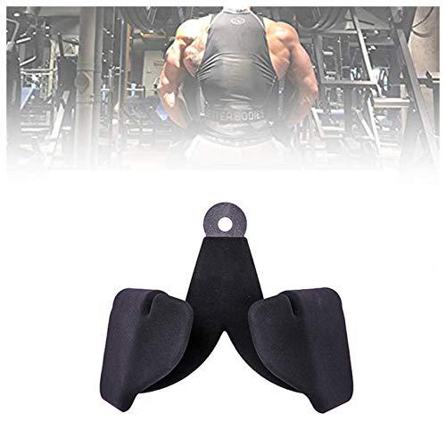 FQLZ Barra de dominada, extra ancha, para mayor piel, agarre de entrenamiento para culturismo, crossfit, entrenamiento de fuerza, fitness, gimnasia, 20 cm