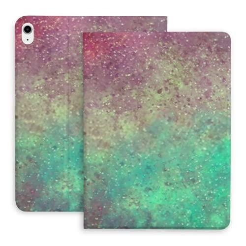 Estuche Compatible con iPad Air 4 10.9 Pulgadas 2020 con portalápices, Protector de Estuche con Textura saturada Brillante Multicolor, Soporte magnético ultradelgado, Sleep (fitsa2316, A1934, A1980,