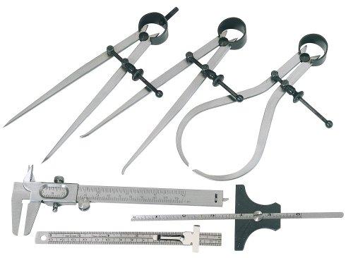 Draper 59110 Measuring Set, 6 Pieces