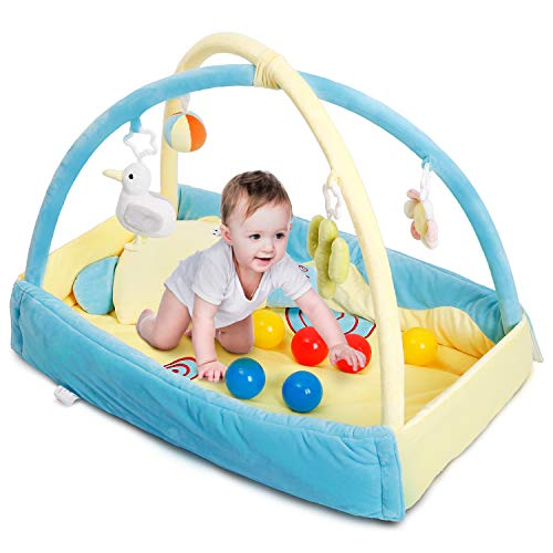 CRZDEAL Gimnasio de Actividades para Bebés, Area de Juego