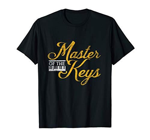 Klavier Musik Klavierspieler Pianist Piano T-Shirt