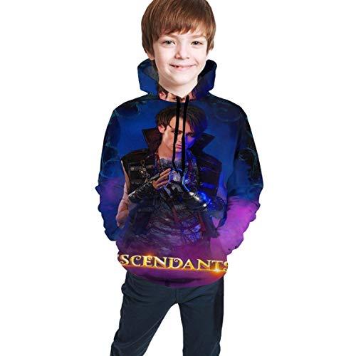 Tengyuntong Sudaderas con Capucha Descendants 3 Harry Teen Boy Girl Sudadera con Capucha Linda Sudadera con Capucha con Estampado 3D
