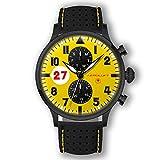 Rennfahreruhr Gelbe Motorsport Uhr Herren Type 1 Nürburgring