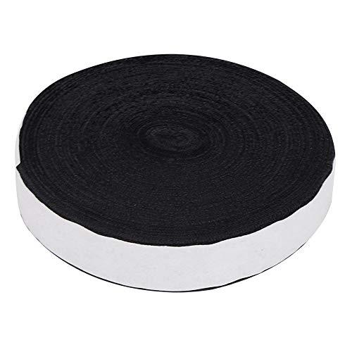 VGEBY 10M Tennis Badminton Racket Overgrips Racquet Handle Grip Tape para absorción de Sudor Antideslizante(Negro)