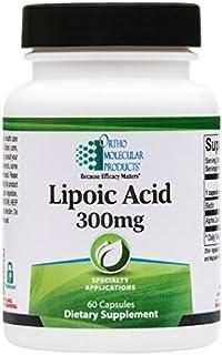 Ortho Molecular - Lipoic Acid - 60 Capsules, 300 mg