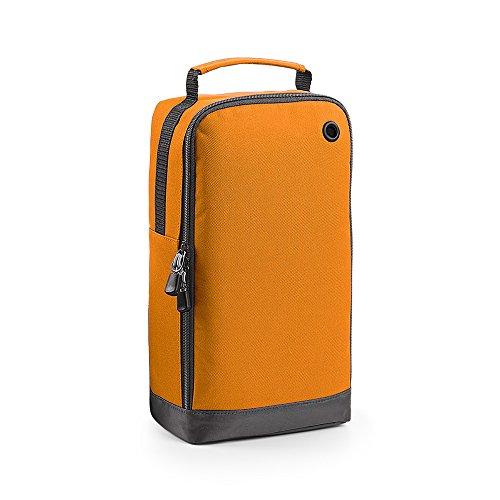 BagBase - Bolsa deportiva para zapatos (8 litros) (Paquete de 2) (Talla Única) (Naranja)