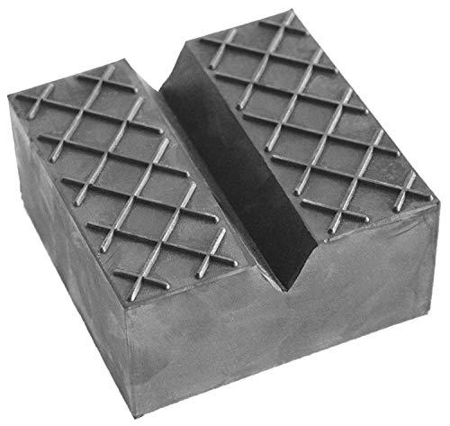 Gummiauflagen für Wagenheber in über 40 Varianten und Größen (125x125x50mm V-Nut/Waffel)
