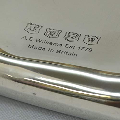A.E.Williamsスキットルハンティング特別版狩り狩猟ウィスキーボトルピューター錫英国製180ml6oz