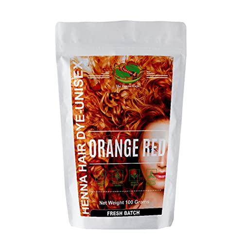 Red / Orange Henna Hair Dye / Color - 1 Pack - The Henna Guys