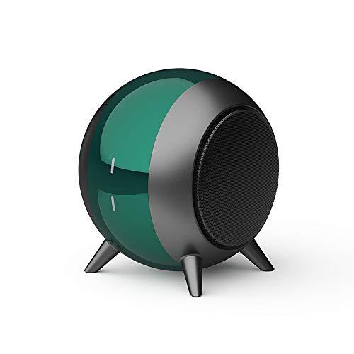 DAXGD Altavoces portátiles Bluetooth 5.0, Altavoz inalámbrico Bluetooth, 6 Horas de reproducción, Distancia de transmisión de 10 m (Verde)