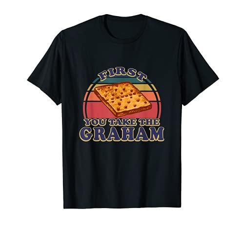 Smores Graham Cracker Retro S'mores Group Disfraz de Halloween Camiseta