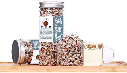 Apple blossom flower tea Super Organic Dried Apple Flower Tea, anti acne, freckle lose weight 50g Slimming Help digestion Beauty
