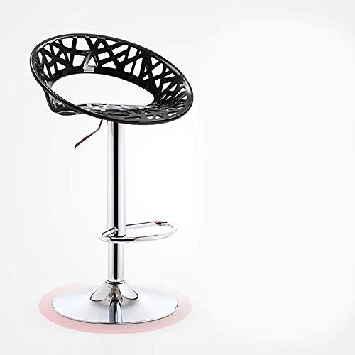 BDWY barkruk, hoge stoel, verstelbaar, draaibaar, chroom