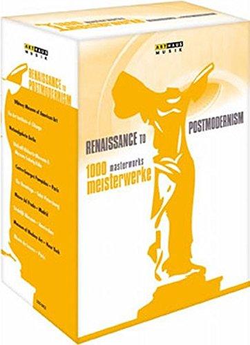 1000 Meisterwerke: Renaissance to Postmodernism, 10 DVDs