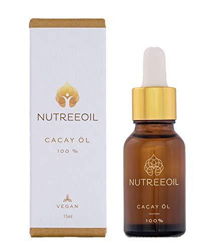 Cacay Öl | 100% Rein für Gesicht, Haar, Bart, Nägel | Retinol | Anti-Aging | Feuchtigkeitspflege | Anti-Akne | Kaltgepresst | Vegan | Cacay Oil | Naturkosmetik | 15ml
